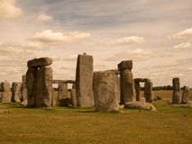Stonehenge. Is a prehistoric monument located in Wiltshire, England stock photography
