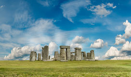 Stonehenge. A prehistoric monument in Salisbury, UK stock images
