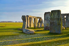 Stonehenge prehistoric monument in Wiltshire county, England royalty free stock photography