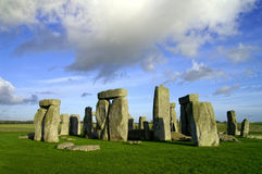 Stonehenge. A prehistoric monument in Wiltshire, England royalty free stock photography