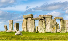 Stonehenge, a prehistoric monument in Wiltshire Royalty Free Stock Images