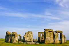 Stonehenge. Is a prehistoric monument in Wiltshire, England Stock Images