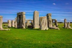 Stonehenge in England Royalty Free Stock Images