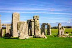 Stonehenge in England Stock Photo