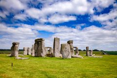 Stonehenge prehistoric monument Wiltshire South West England UK Royalty Free Stock Images