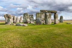 Stonehenge prehistoric stone Stock Photos