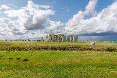 Stonehenge prehistoric stone Royalty Free Stock Images