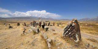Stonehenge preistorico armeno fotografie stock