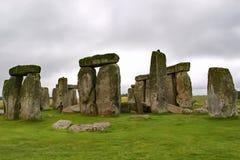Stonehenge on a Rainy Day. Stonehenge pictured on a Rainy Day royalty free stock image