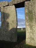 Stonehenge ram Arkivfoto