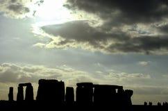 Stonehenge- Regno Unito fotografie stock