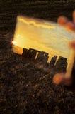 Stonehenge- Regno Unito - granulo visibile fotografie stock