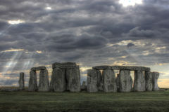 Stonehenge, Regno Unito, Inghilterra Immagini Stock Libere da Diritti