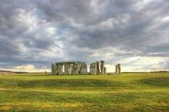 Stonehenge, Regno Unito, Inghilterra Fotografia Stock Libera da Diritti