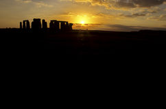Stonehenge- Reino Unido Imagens de Stock Royalty Free