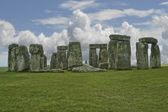 Stonehenge Reino Unido. Imagem de Stock Royalty Free