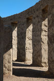 Stonehenge Replica. Inside walls of a Eastern Washington State war memorial that is a replica of Stonehenge Royalty Free Stock Images