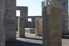 Stonehenge replica Royalty Free Stock Photography