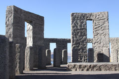 Stonehenge replica Stock Photos