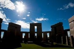 Stonehenge Replica. In Esperance - Australia stock image