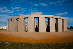 Stonehenge Replica. In Esperance - Australia stock photography