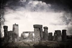 Stonehenge retro. Stock Photos
