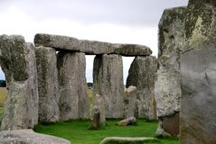 Stonehenge Rock Formation Royalty Free Stock Photo
