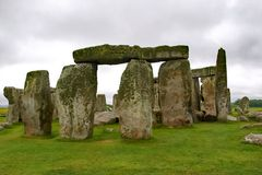 Stonehenge Rock Structure England. Stonehenge Rock Structure in England royalty free stock photo