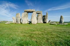 Stonehenge, Salisbúria, Inglaterra imagem de stock royalty free
