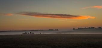 Stonehenge. In salisbury with sunrise stock images