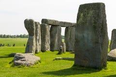 Stonehenge an ancient prehistoric stone monument. stock photography