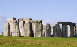 Stonehenge Sarsen circle Stock Photos