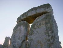 Stonehenge Sarsens mit lintle Lizenzfreie Stockfotografie