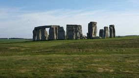 Stonehenge Site Full View Royalty Free Stock Photo