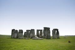 Stonehenge standing stones ancient monument wiltshire england Stock Image