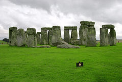 Stonehenge. Stone building, 130 km South-West of London stock images