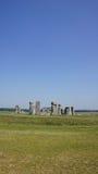 Stonehenge stones. Standing picture of the Stonehenge circle stock photography