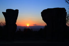 Stonehenge Thaïlande photographie stock libre de droits