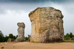Stonehenge of Thailand Stock Photography