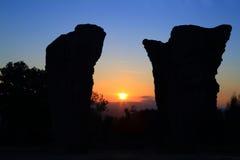 Stonehenge Thailand Royaltyfri Foto