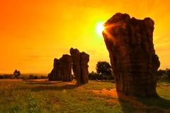 stonehenge thailand Royaltyfria Bilder