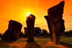 stonehenge thailand Royaltyfri Fotografi