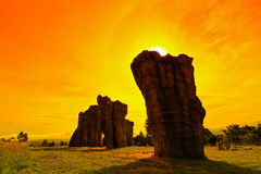Stonehenge of Thailand Royalty Free Stock Photo