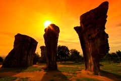 Stonehenge of Thailand Royalty Free Stock Photography