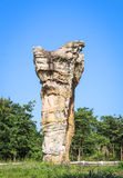 Stonehenge of Thailand, Mor Hin Khao at Chaiyaphum province Thai Royalty Free Stock Image