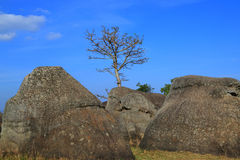 """Stonehenge  Thailand. In  stone  field  """"Mo Hin  Khaw"""" of  Chaiyaphum  province, Thailand Stock Images"""