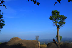"""Stonehenge  Thailand. In  stone  field  """"Mo Hin  Khaw"""" of  Chaiyaphum  province, Thailand Stock Photography"""