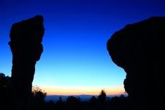 Stonehenge  Thailand. In  stone  field  Mo Hin  Khaw of  Chaiyaphum  province, Thailand Stock Photo