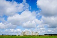 Stonehenge. Tourists Visiting Stonehenge, an Ancient Landmark near Salisbury, England royalty free stock photo