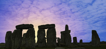 Stonehenge U.K. stock photography